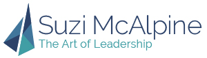 Suzi McAlpine | The Art of Leadership Sticky Logo